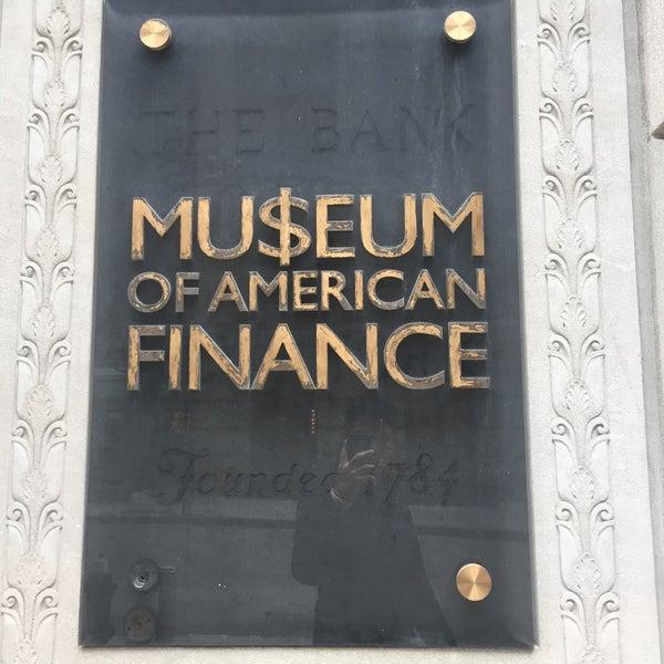 Foto tirada no(a) Museum of American Finance por Kevin D. em 2/20/2016
