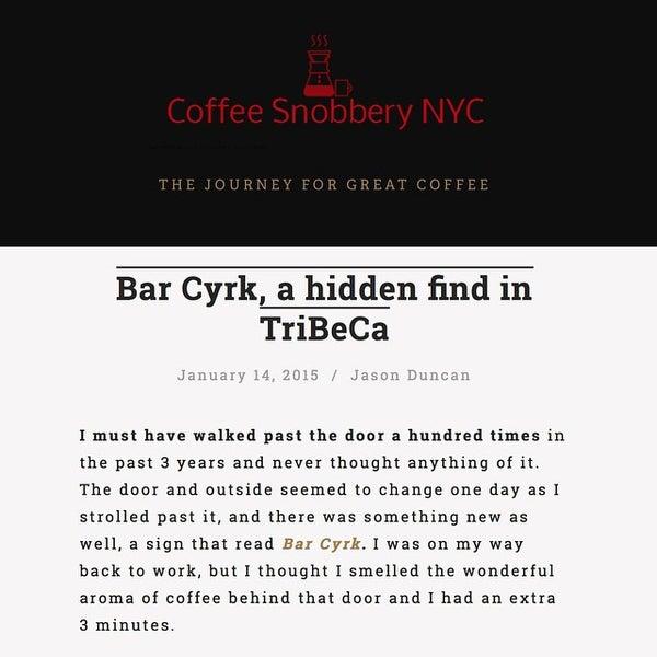 Foto tirada no(a) Bar Cyrk NYC por Emmet K. em 3/9/2015