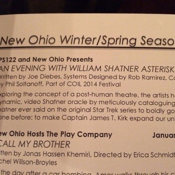 Das Foto wurde bei New Ohio Theatre von Charles S. am 1/11/2014 aufgenommen