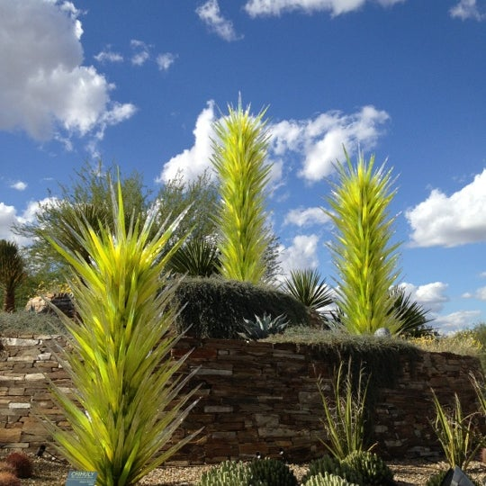 Foto tirada no(a) Desert Botanical Garden por Kris M. em 11/10/2012