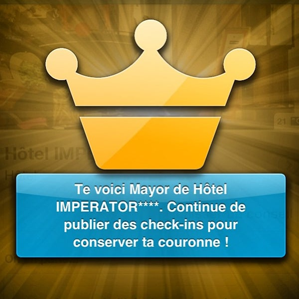 Photo prise au Hôtel IMPERATOR**** par Jacques F. le5/17/2013