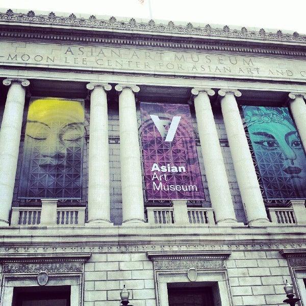 9/16/2012 tarihinde Hugo D.ziyaretçi tarafından Asian Art Museum'de çekilen fotoğraf