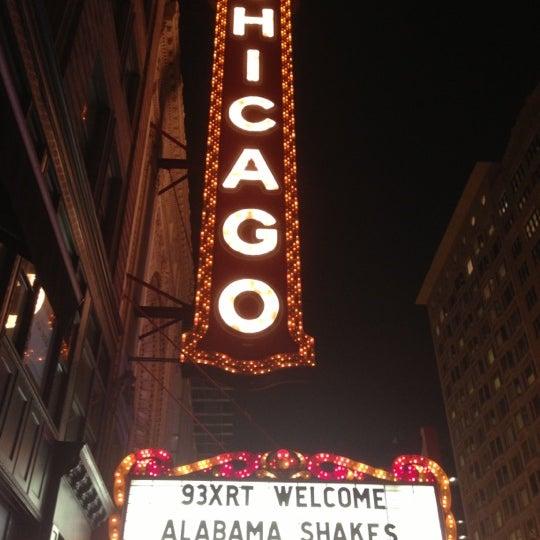 12/3/2012에 Paula C.님이 The Chicago Theatre에서 찍은 사진