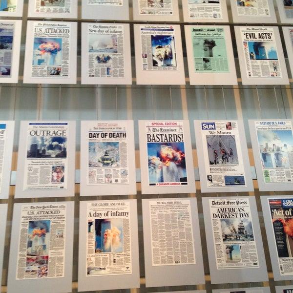 Снимок сделан в Музей журналистики и новостей пользователем David H. 5/9/2013