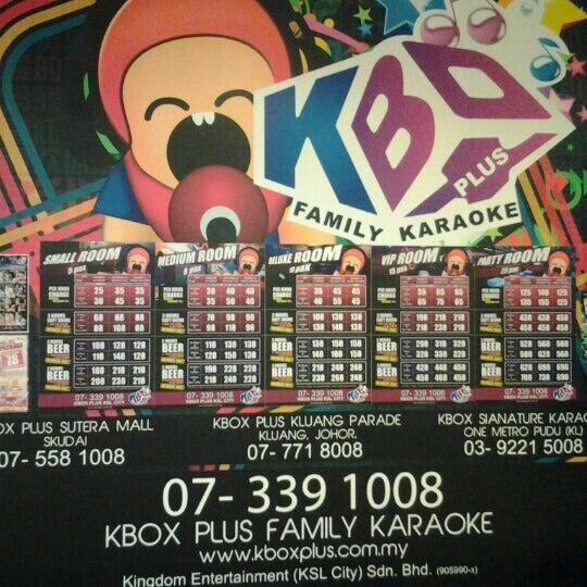รูปภาพถ่ายที่ KBOX Plus โดย Ryan L. เมื่อ 10/7/2012