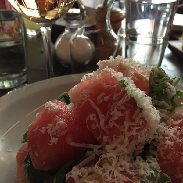 Watermelon Salad w Dry Rosé