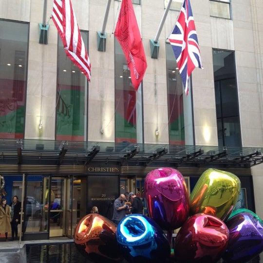 11/12/2012にSteven B.がChristie'sで撮った写真
