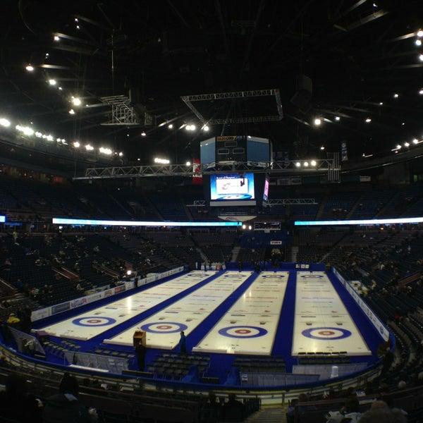 3/2/2013 tarihinde Jerry A.ziyaretçi tarafından Northlands Coliseum'de çekilen fotoğraf