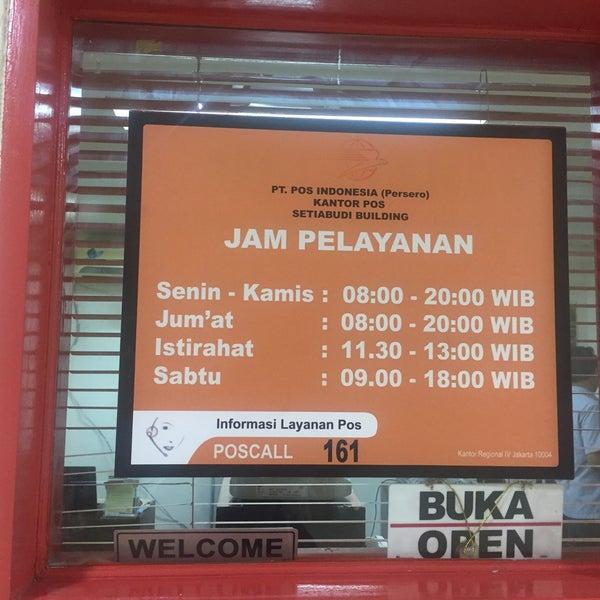 Kantor Pos Setiabudi Jakarta Selatan Jl Karet Karya Vii