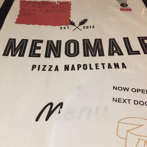 Foto scattata a Menomalé Pizza Napoletana da John T. il 1/20/2017