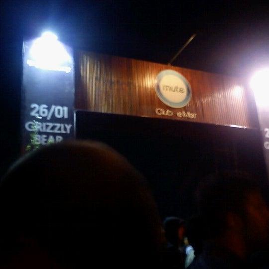 Foto tomada en Mute Club de Mar por Mercedes D. el 1/27/2013