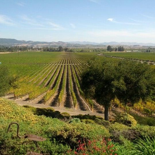 Das Foto wurde bei Gloria Ferrer Caves & Vineyards von Michael R. am 10/10/2012 aufgenommen
