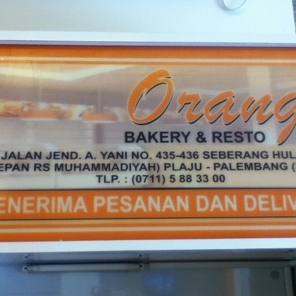 Photo Taken At Orange Bakery Amp Resto By Ferdian P On