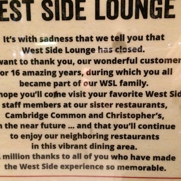 4/24/2016 tarihinde NYC T.ziyaretçi tarafından West Side Lounge'de çekilen fotoğraf