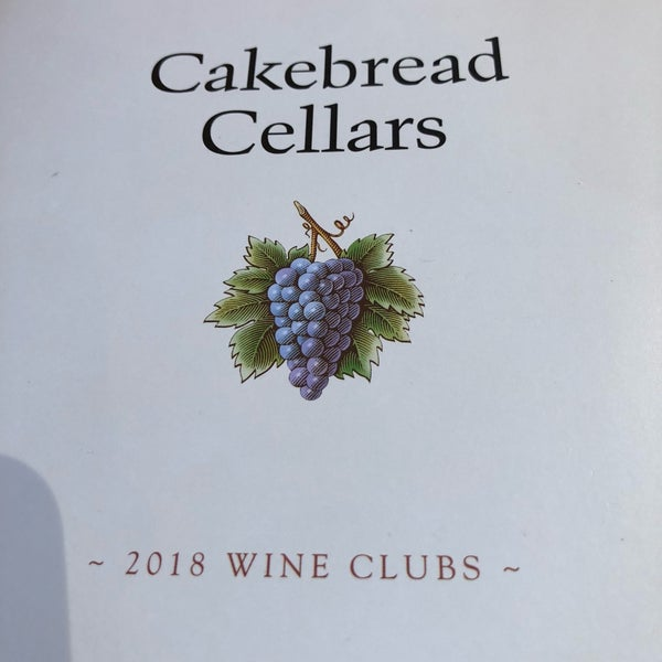 Foto tirada no(a) Cakebread Cellars por Murray S. em 12/14/2018