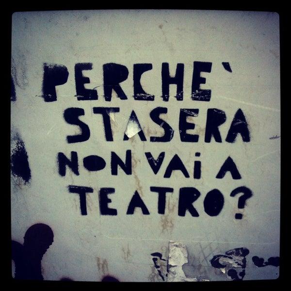 Снимок сделан в Teatro Franco Parenti пользователем Alessandra Lou Z. 9/30/2013