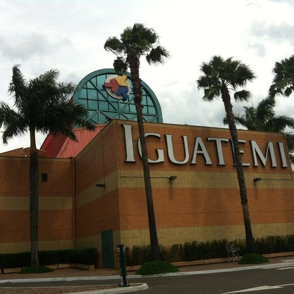 รูปภาพถ่ายที่ Shopping Iguatemi โดย Bruno C. เมื่อ 1/6/2013