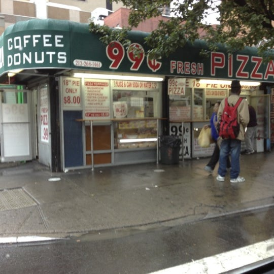 Photo Taken At 99 Cent Fresh Pizza By Kosta P On 10