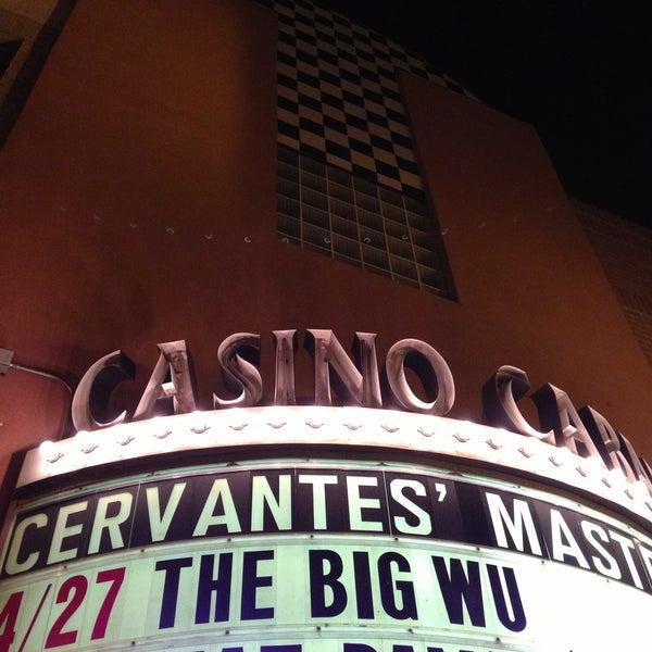 Das Foto wurde bei Cervantes' Masterpiece Ballroom & Cervantes' Other Side von Chris G. am 4/28/2013 aufgenommen