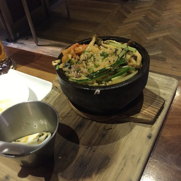 The Hamachi Bibimbap was a fantastic new experience! Really good and really recommend