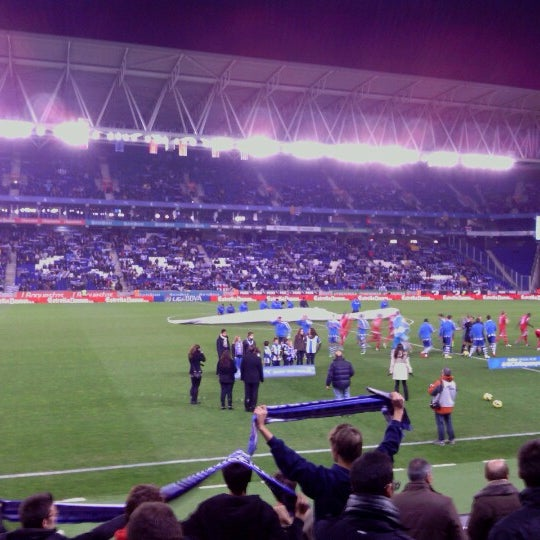 Foto diambil di RCDE Stadium oleh Marcos G. pada 12/7/2012