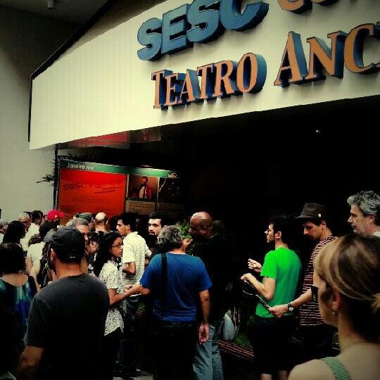 รูปภาพถ่ายที่ Sesc Consolação โดย Yuri d. เมื่อ 1/7/2013