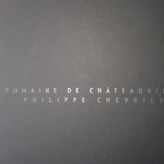 Foto tirada no(a) Domaine de Châteauvieux por Béatrice V. em 3/23/2012