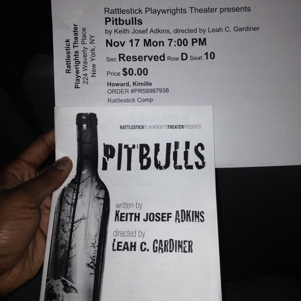 11/18/2014にKimille H.がRattlestick Playwrights Theaterで撮った写真