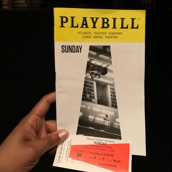 9/27/2019にKimille H.がAtlantic Theater Company (Linda Gross Theater)で撮った写真