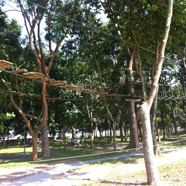 1/25/2013にSang Hyuk L.がForest Adventure (Bedok Reservoir Park)で撮った写真