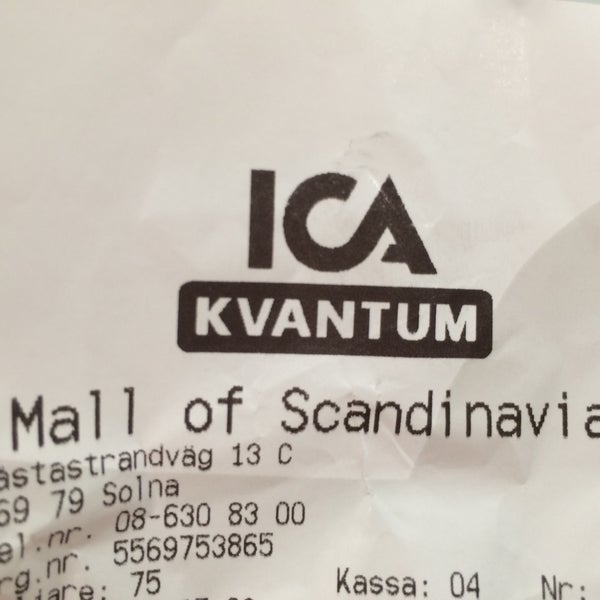 ica maxi mall of scandinavia