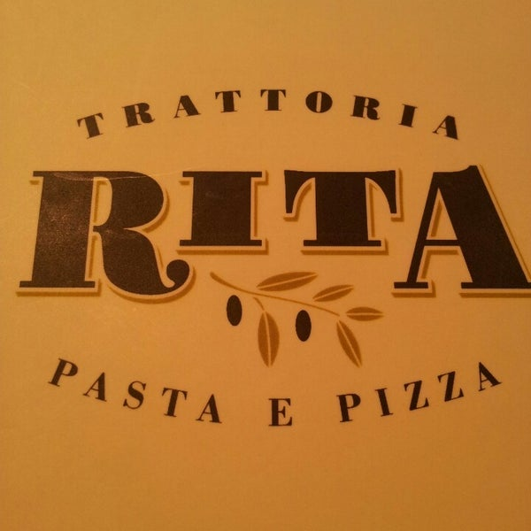 รูปภาพถ่ายที่ Trattoria Rita โดย Pablo A. เมื่อ 3/6/2013