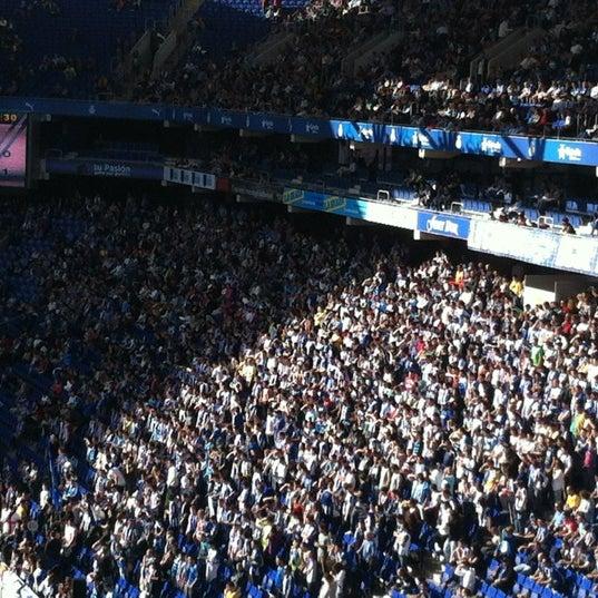 Foto diambil di RCDE Stadium oleh Silvia R. pada 10/21/2012