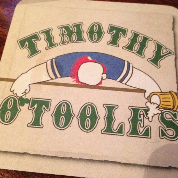 2/6/2013에 Catherine F.님이 Timothy O'Toole's Chicago에서 찍은 사진