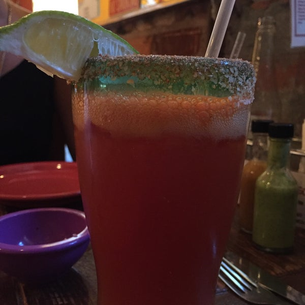 Michelada is amazing.