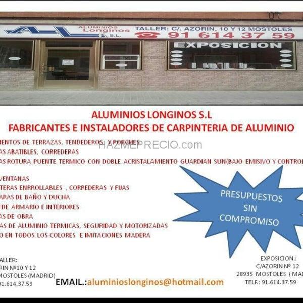 Aluminios Longinos Factory