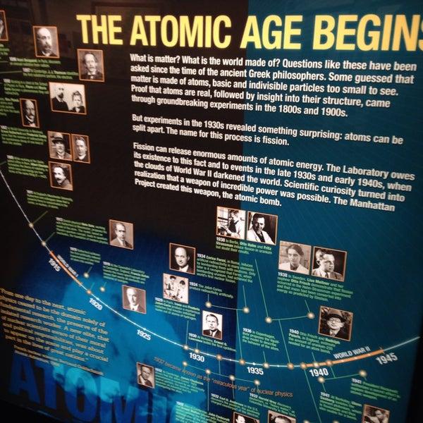 Photo taken at Bradbury Science Museum by leigh ann c. on 5/24/2014
