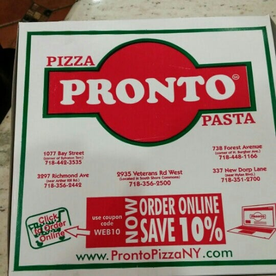 Pizza Pronto Charleston 7 Tips From 210 Visitors