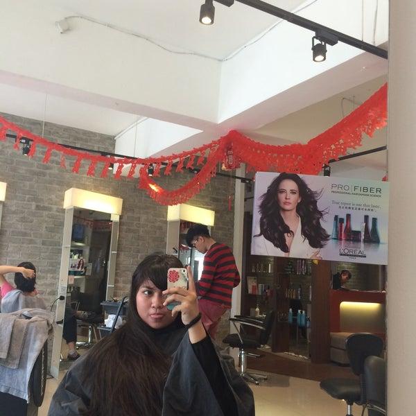 Photo taken at Thomas Guys Academy Saloon by Suhaila ...