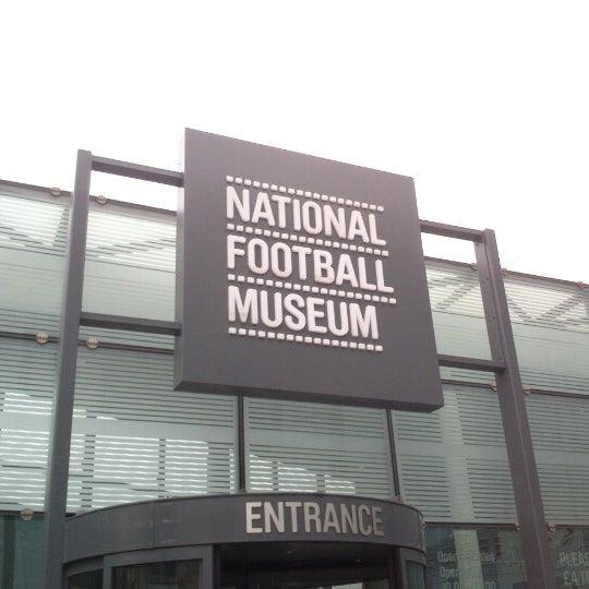 12/8/2012 tarihinde Mike D.ziyaretçi tarafından National Football Museum'de çekilen fotoğraf