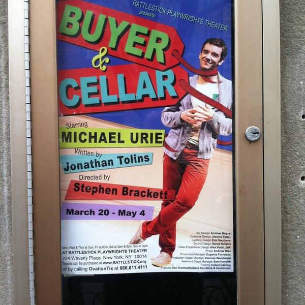 Das Foto wurde bei Rattlestick Playwrights Theater von Rick G. am 4/13/2013 aufgenommen