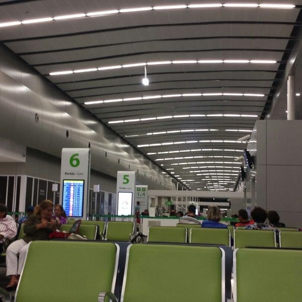 Снимок сделан в Aeroporto Internacional de Natal / São Gonçalo do Amarante (NAT) пользователем Guilherme V. 11/24/2014