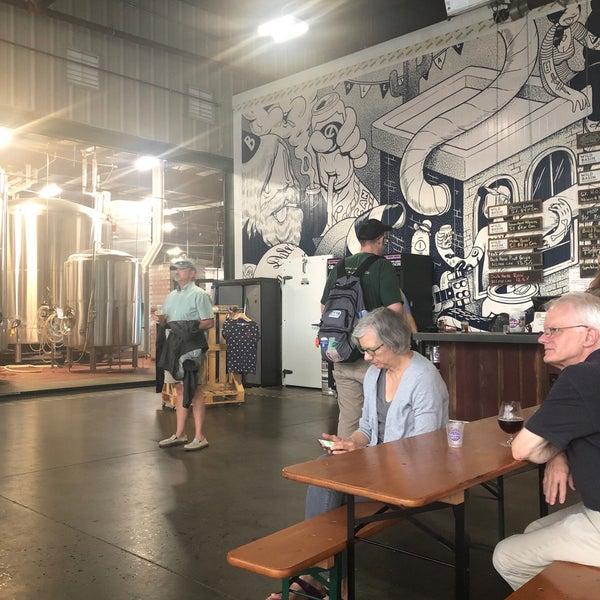8/22/2019 tarihinde Sue W.ziyaretçi tarafından Oskar Blues Brewery'de çekilen fotoğraf