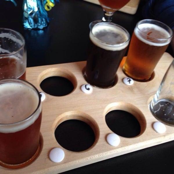 Снимок сделан в Peddler Brewing Company пользователем Nick S. 3/15/2014