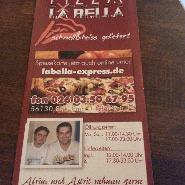 Pizza La Bella Pizza Place