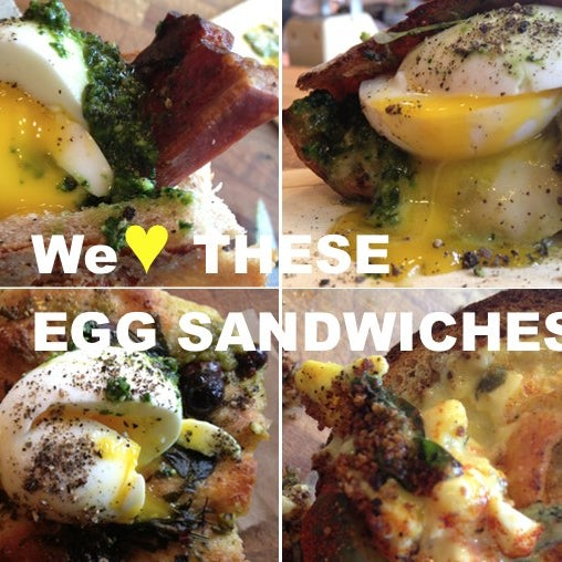 @Gothamist says this place makes the best egg sandwiches. I'm going to put them to the test.