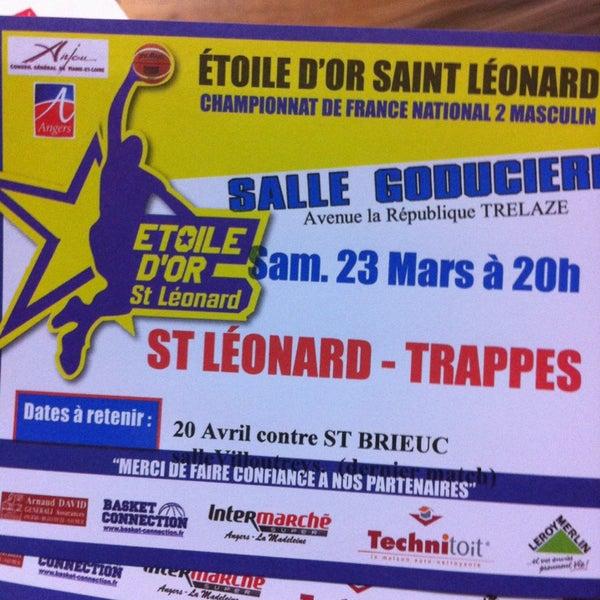 Salle De La Goduciere Basketball Court