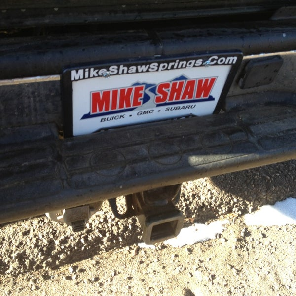 Mike Shaw Buick Gmc >> Mike Shaw Buick Gmc Ivywild Colorado Springs Co