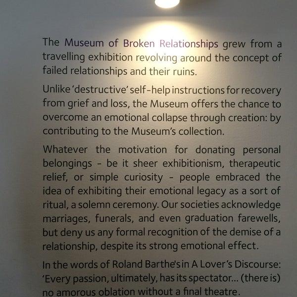 7/28/2016 tarihinde Nouf A.ziyaretçi tarafından Muzej prekinutih veza | Museum of Broken Relationships'de çekilen fotoğraf