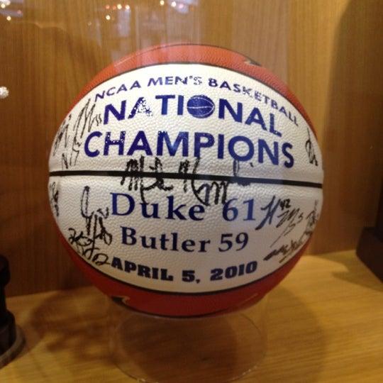 Photos at Duke Basketball Museum & Duke Athletics Hall of